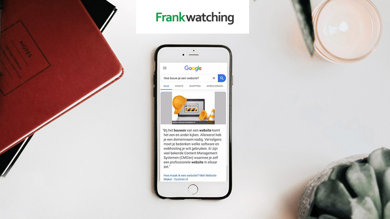 Featured snippets: met jouw website bovenaan in Google